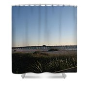 Venice Beach Pier Shower Curtain