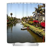 Venice Canal 1 Shower Curtain