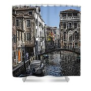 Venice Canal 5 Shower Curtain
