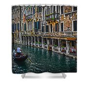 Venice Canal 7 Shower Curtain
