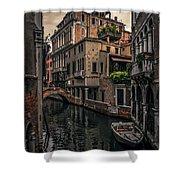Venice Canal 8 Shower Curtain