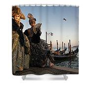 Venice Carnival '15 IIi Shower Curtain