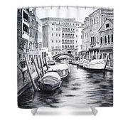 Venice City Of Love Shower Curtain