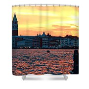 Venice Colors Shower Curtain