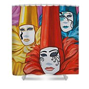 Venice Costumes Shower Curtain
