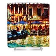 Venice Glow Shower Curtain
