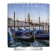 Venice Grand Canal And Goldolas Shower Curtain