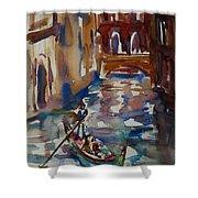 Venice Impression V Shower Curtain