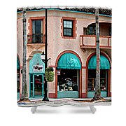 Venice Island Florida Shower Curtain