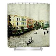 Venice Italy Magical City Shower Curtain