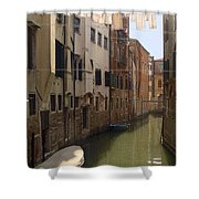 Venice Laundry Day Shower Curtain
