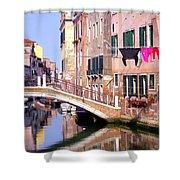 Venice Living Shower Curtain