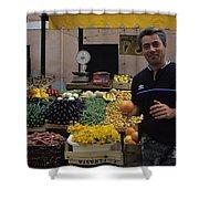Venice Market Shower Curtain