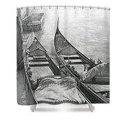 Venice Mmxii-ii  Shower Curtain