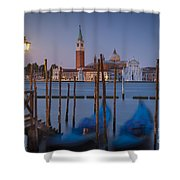 Venice Morning Shower Curtain