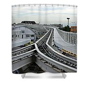 Venice People Mover Shower Curtain