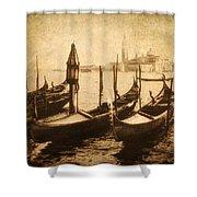 Venice Postcard Shower Curtain