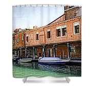 Venice Reflections - Italy Shower Curtain