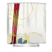 Venice Silouhette Shower Curtain