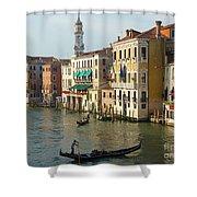 Venice Sun Shower Curtain