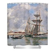 Venice. The Grand Canal Shower Curtain