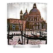Venice The Grand Canal Shower Curtain