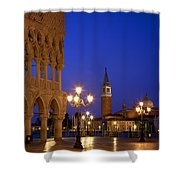 Venice Twilight Shower Curtain