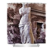 Venus De Milo - Louvre Shower Curtain