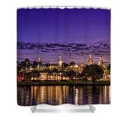 Venus Over The Minarets Shower Curtain