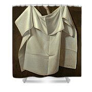 Venus Rising From The Sea. A Deception Shower Curtain