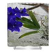Vera The Vanda Shower Curtain