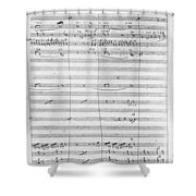 Verdi Rigoletto, 1850 Shower Curtain