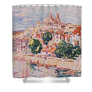Verdun France Shower Curtain