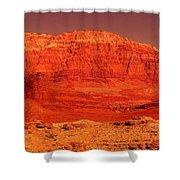 Vermilion Cliffs Shower Curtain