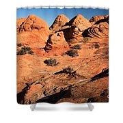 Vermilion Landscape Shower Curtain
