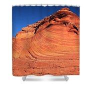 Vermilion Mounds Shower Curtain