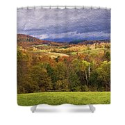 Vermont Colors Shower Curtain