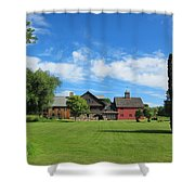 Vermont Country Home Shower Curtain