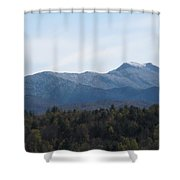 Vermont Mountains Shower Curtain