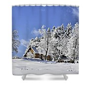 Vermont Winter Beauty Shower Curtain
