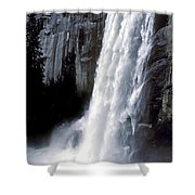 Vernal Falls Profile Shower Curtain
