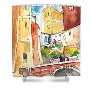 Vernazza In Italy 02 Shower Curtain
