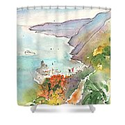 Vernazza In Italy 06 Shower Curtain