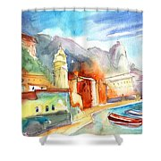 Vernazza In Italy 07 Shower Curtain
