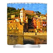 Vernazza Shower Curtain