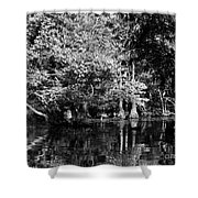 Vernon Lake Four Shower Curtain