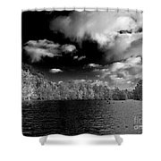 Vernon Lake Two Shower Curtain