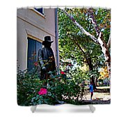Vernon-wister House Shower Curtain