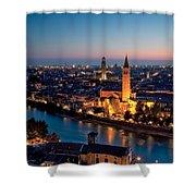 Verona At Sunset Shower Curtain