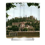 Verona On The Adige Shower Curtain